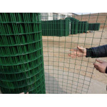 Ral-6005 PVC Coated Welded Wire Mesh Eurfence