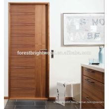 Veneered flush panel custom interior door