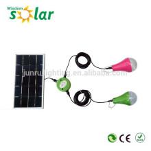 2014 caliente nuevo producto led portátil solar solar, luz led casa luz de emergencia