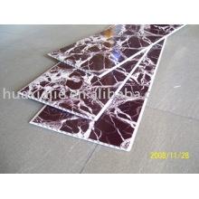 Schwarze Wärmeübertragung PVC dekorative Wandplatte