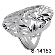 Le plus nouveau mode bijoux en argent anneau pour Lady (S-14153)