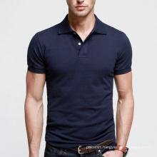 Best Quality Navy Blue Men Plain Polo Shirt on Sale