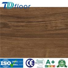 Plancher sec de planche de dos de vinyle imperméable d'intérieur de PVC de prix usine