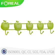 Элегантный Apple форму стены навесные Одежда крюк