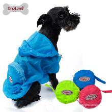 Doglemi Skin wear dog pet raincoat UV resistant dog camo jacket clothes