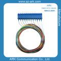 SC/PC 12 Color Fiber Pigtail Optical Fiber