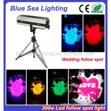 300W wedding led follow spot light