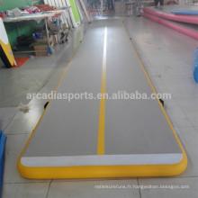 Tapis gonflables d'air de plancher de ressort de gymnastique en gros pour l'exercice