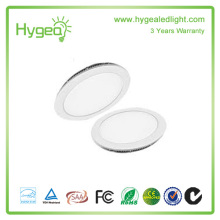 High quality 6W-24W LED light panel, Round Square LED panel light
