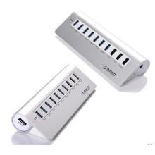 ORICO M3H73P Aluminium haute vitesse à 7 ports USB 3.0 HUB