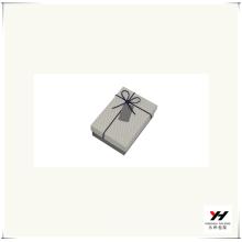 2016 Großhandel logo gedruckt Luxus recyclebar Karton Quadrat Geschenkbox