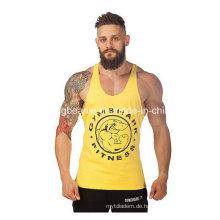 100% gekämmtes Baumwoll-Tank Top, Herren-Tank Top, Herren-Shirt