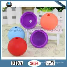 Molde del hielo del silicón y molde del Lollipop y fabricante Si18 de la bola de hielo de la alta calidad