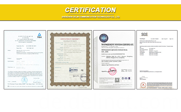 All kinds of certification