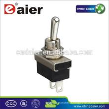 Daier KN3 (D) -101/111 SPST 2 Pinos Interruptor de Toggle 12V