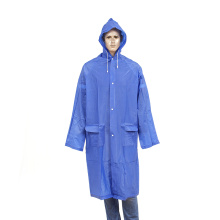 long imperméable réutilisable en pvc