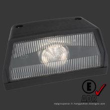 Lumière de la plaque d'immatriculation LED