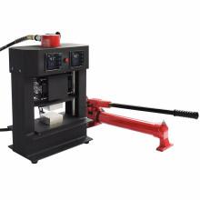 HP3809-R máquina de imprensa de colofonia portátil hidráulica com pressão de 20 toneladas