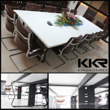 Modern Manufacturer Acrylic Resin Office Table Design