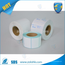 El papel térmico del papel higiénico del papel térmico del papel térmico del papel en blanco de la venda entera para la máquina del ecg