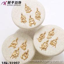 31997 Xuping joyas de moda chapado en oro Doce constelaciones colgante