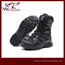 Военные тактические ботинки сапоги виброустойчивый анти укол армии сапоги