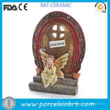 Novelty Enchanted Resin Fairy Door Garden Decoration