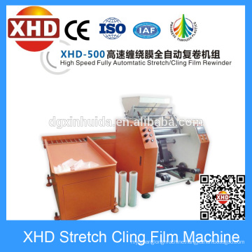 Auto Film Rewinder Machinery, Full Auto Film Rewinding Machine
