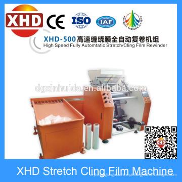 Auto máquina de rebobinação de filme, Full Auto máquina de rebobinamento de filme