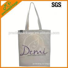 Mode Werbeartikel Baumwolle Handtasche mit benutzerdefinierten Druck