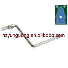fil de fer forgé support en acier ligne d'alimentation électrique connecter raccord galvanisé à chaud Z support de montage