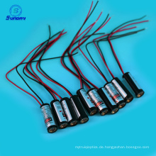 24V rote Lasermodule 650nm 635nm 10mm