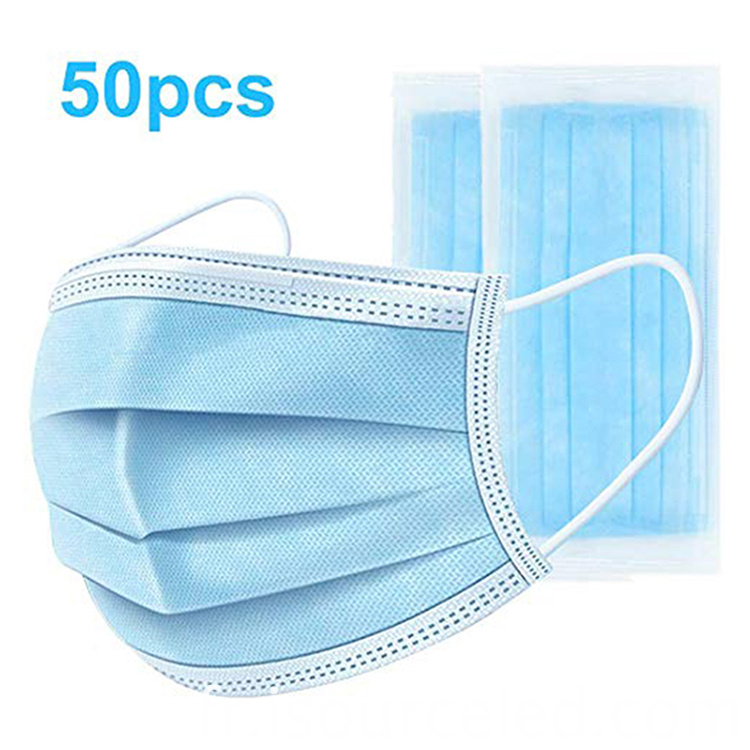 Thick 3-Layer Nonwoven face mask