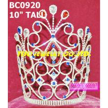 Schönheitskristall-Kronen und Tiaras