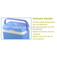 Refrigerador del coche de HF-32L (104) DC 12V / AC 220V Refrigerador del coche del uso doble del refrigerador del hogar y del coche mini (certificado del CE)