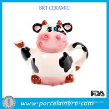 Sweet Cow Ceramic Porcelain Teapot