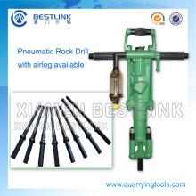 Portable Pneumatische Rock Drilling Ausrüstung für Steinbruch Marmor
