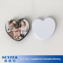 2020 New Heart Shape Sublimation Blank Phone Holder Phone Grip Socket with Metal Sheet