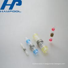 Connecteurs terminaux thermiques de rétrécissement de bout avec la douille de soudure