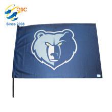 vente complète Cool drapeau de la main conçoit avec votre logo