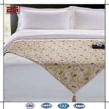 Deluxe New Arrival Hôtel 5 étoiles Bed Scarf King Size