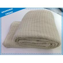 Couverture de couverture de lit en laine synthétique