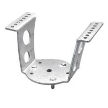 Estamparia de precisão, suporte de montagem, estampagem de chapa de metal