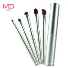 Premium 5PCS Cosmetic Brush Set with Tube (TOOL-119)