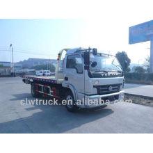IVECO 3800mm remolque plano camión remolque camión uno unidad dos