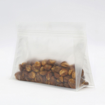 Matte 8-side seal Stand Up Plastic Bag Food