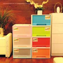 Детский шкаф с выдвижными ящиками, пластиковый шкаф