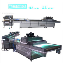 Automatic Screen Printer with UV Curing Machine Process Line