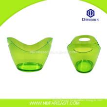 Unique shaple plastic mini ice bucket