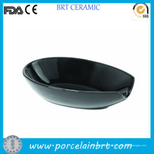 Porte-cuillères en gros noir porcelaine